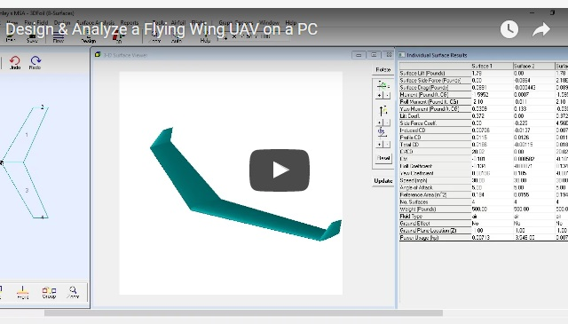 Flying Wing Tutorial