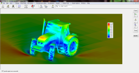 Tractor CFD