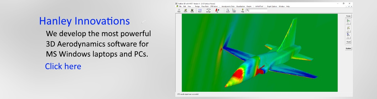 3D CFD Software Jet Airplane