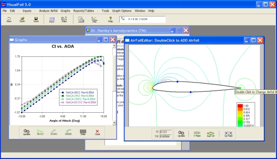 VisualFoil 5 0 - Airfoil Analysis and Design Software