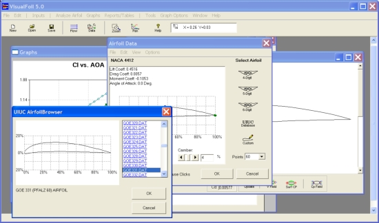 airfoil library